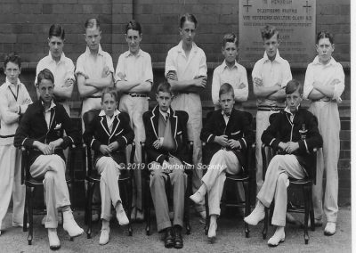Martin Tunaley - School Junior Team 1933