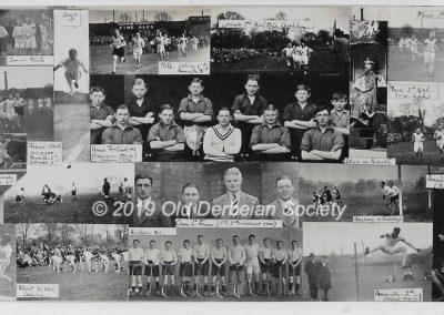 Martin Tunaley - School activities 1932
