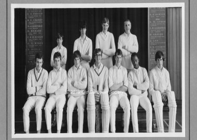 Martin Tunaley - Senior 1st XI - 1969 season