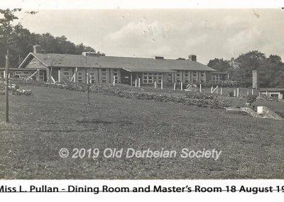 Miss L. Pullan - Dining Room & Staff Room