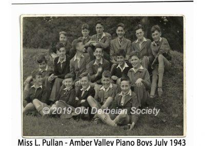 Miss L. Pullan - Piano Boys July 1943