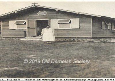Miss L. Pullan - Rene at Wingfield Dormitory