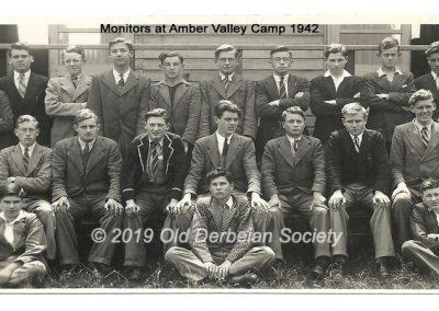 Monitors at Amber Valley Camp 1942