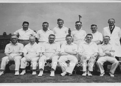 Neil Partridge Parents Team versus 1st XI July 1949