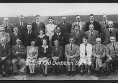 Neil Partridge Staff at Amber Valley Camp 1945