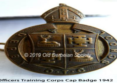 OTC Cap Badge