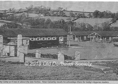Peter Calverley Amber Valley Camp late Forties