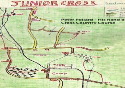 Peter Pollard - Cross Country course