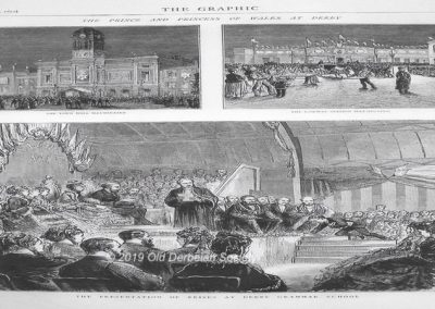 Prince of Wales Visit 1872 incl Midland Station and Guildhall