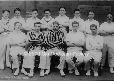 Raybould 2nd XI cricket1939