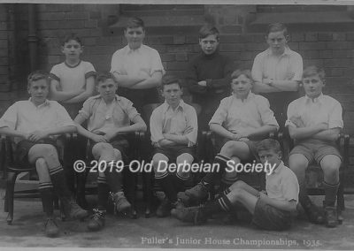 Raybould Fullers Junior House Champions 1935