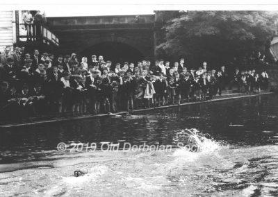 River Swim in late 1940's