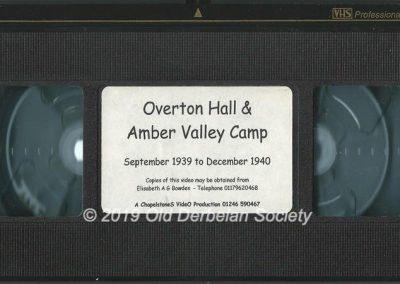 Roy Harrison - Video Cassette of Amber Valley Camp era 1