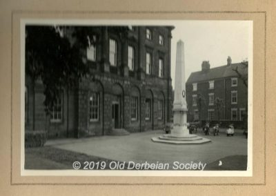 St. Helen's House Forecourt July 1957