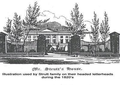St. Helen's House - Strutt letterheads 1820's