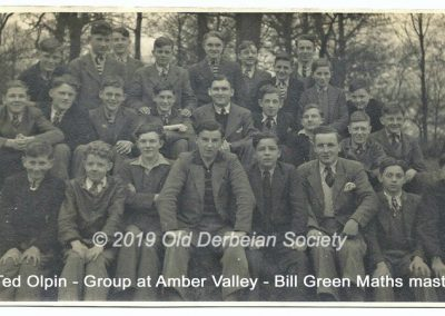 Ted Olpin - Group at Amber Valley Bill Green Maths master