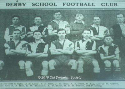 Terry Fletcher - Football Team 1919-1920 season