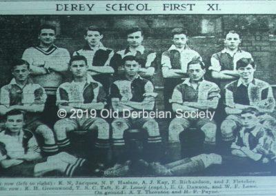 Terry Fletcher - Football Team 1921-1922 season