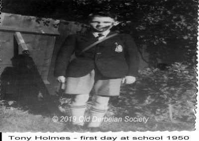 Tony Holmes - First Day at School 1950 (2)