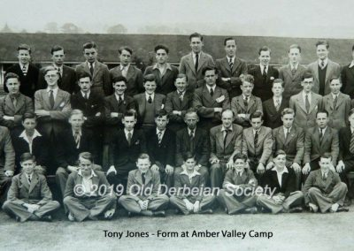 Tony Jones - Form xx at Amber Valley Camp