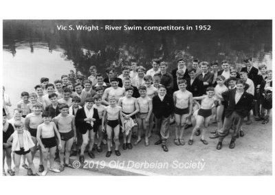 Vic S. Wright - River Swim 1952