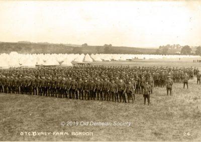 Wilmshurst OTC Camp Oxney Farm Bordon 1912