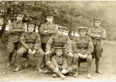 Wilmshurst OTC Camp Oxney Farm Bordon 1913