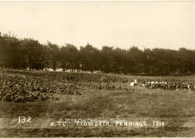 Wilmshurst OTC Camp Tidworth Pennings 1913