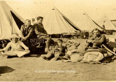 Wilmshurst OTC Camp Tidworth Pennings