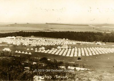 Wilmshurst OTC Camp Tidworth Pennings Aug 1911 a