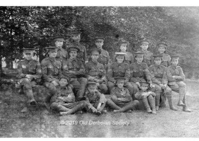 Wilmshurst OTC CampTidworth Pennings 1913